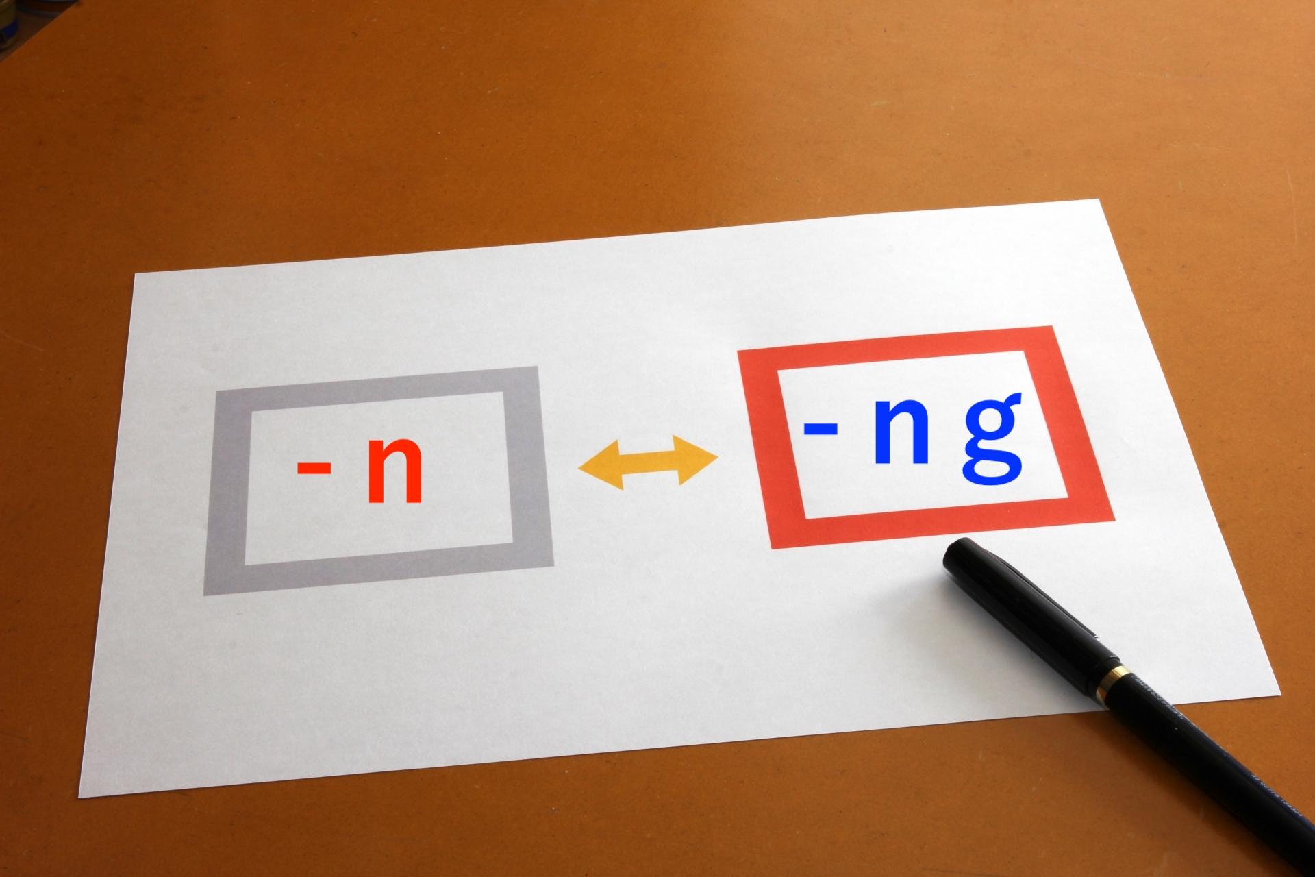 中国語発音 《複母音》「n」「ng」の違いとコツ   Enjoy 中国語!!